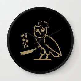 The Chef Wall Clock