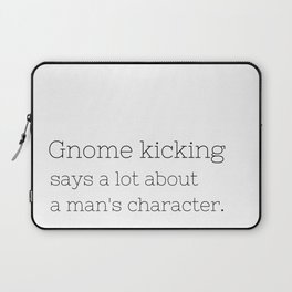 Gnome kicking - GG Collection Laptop Sleeve