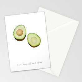 Good kind of fat Stationery Cards