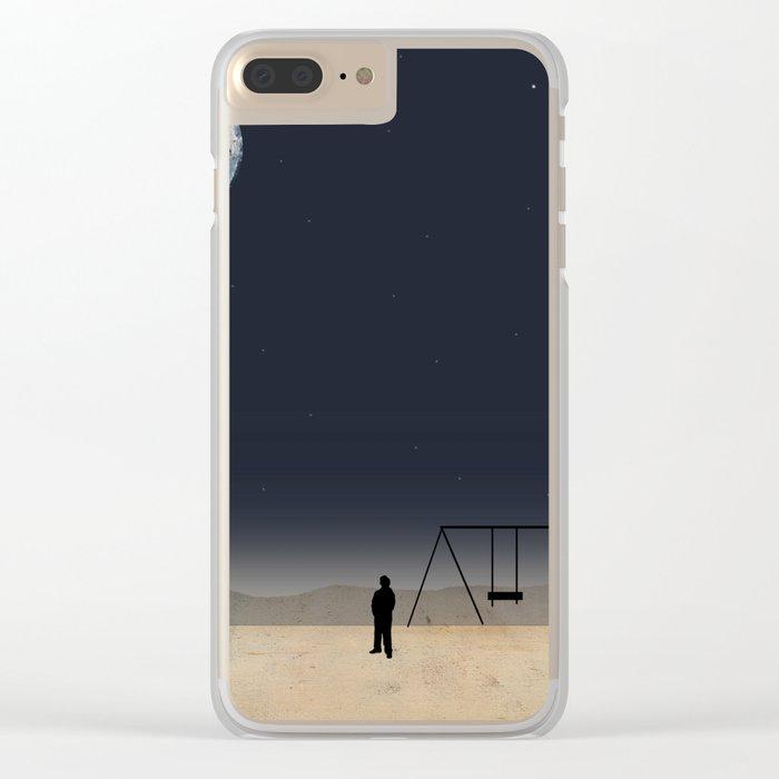 Make a  Wish Clear iPhone Case