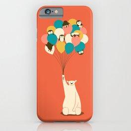 Penguin Bouquet iPhone Case