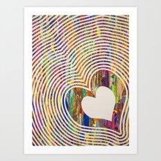 We All Love The Beat Art Print