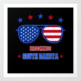 Brookings South Dakota Art Print