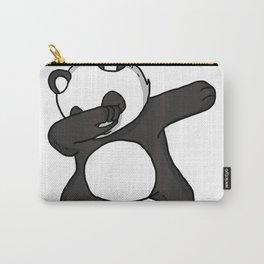 Funny Dabbing Panda Dab Dance Cool Panda Lover Gift T-Shirt Carry-All Pouch