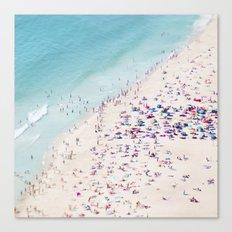 beach - summer love Canvas Print