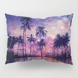 Paradise in Space Pillow Sham