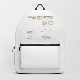 The Moon Howls Backpack