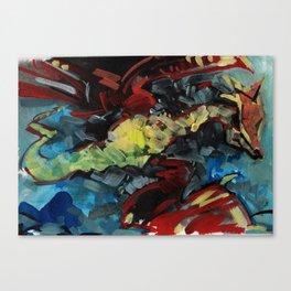 Dragon no.2 Canvas Print