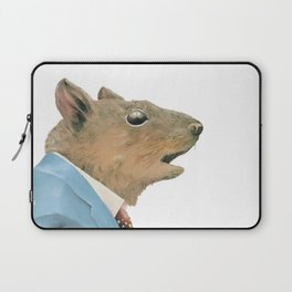 Grey Squirrel Laptop Sleeve