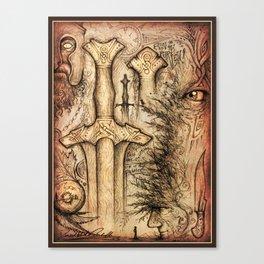 Ohdakkeita ja Antiikin Armoa Canvas Print