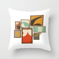S6 Tee - Frames Throw Pillow
