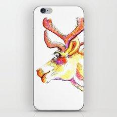 Holdiday drawings : Reindeer iPhone & iPod Skin