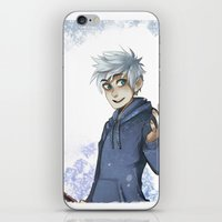 jack frost iPhone & iPod Skins featuring Jack Frost by Sunny
