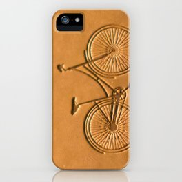 i like to ride my bicycle  iPhone Case