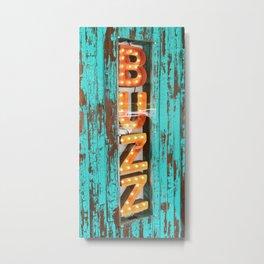 Buzz light Metal Print