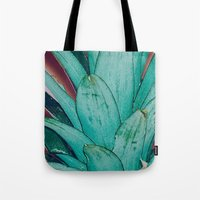 pinapple Tote Bags featuring Pinapple by 83 Oranges™