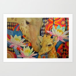 Mother Love Art Print