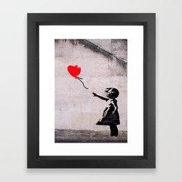 Banksy, Hope Framed Art Print