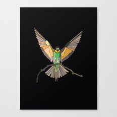 Bird Ripple  Canvas Print