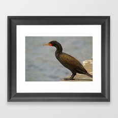 A moment to think Framed Art Print