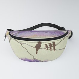 A Mothers Blessings, Birds in Tree Fanny Pack