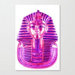 pink tutankhamun Canvas Print
