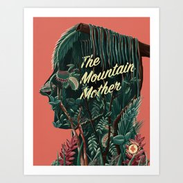 The Mountain Mother Art Print