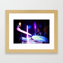 Drums of Heaven Framed Art Print
