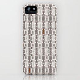 Zig Zagged iPhone Case