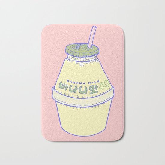 Banana Milk Bath Mat