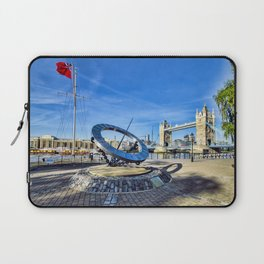 Timepiece sculpture Laptop Sleeve