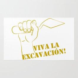 Viva la excavation #2 Rug