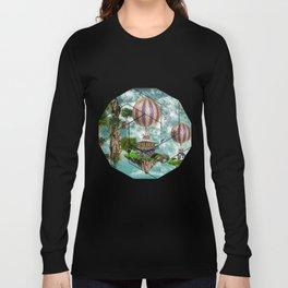 Balloon House Long Sleeve T-shirt