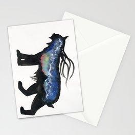 Aurora Milky Way Lynx. Stationery Cards