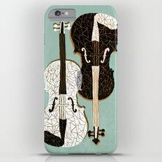 Two Violins iPhone 6 Plus Slim Case