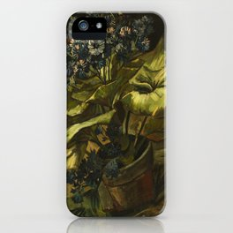 Cineraria by Vincent van Gogh iPhone Case