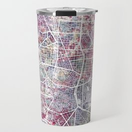 Madrid map Travel Mug