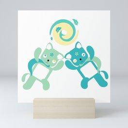 Green Hurricane Mini Art Print