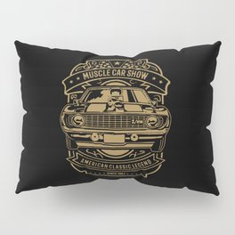 muscle car show american classic legend Pillow Sham