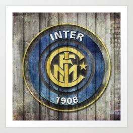 F.C. Internazionale Milano - Inter Art Print