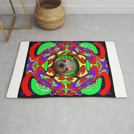 Psychedelic Sloth Rug