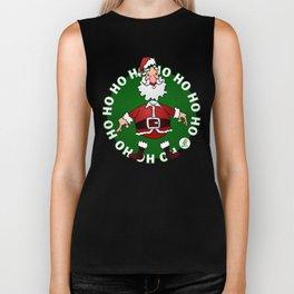 Santa Claus: Ho Ho Ho Biker Tank