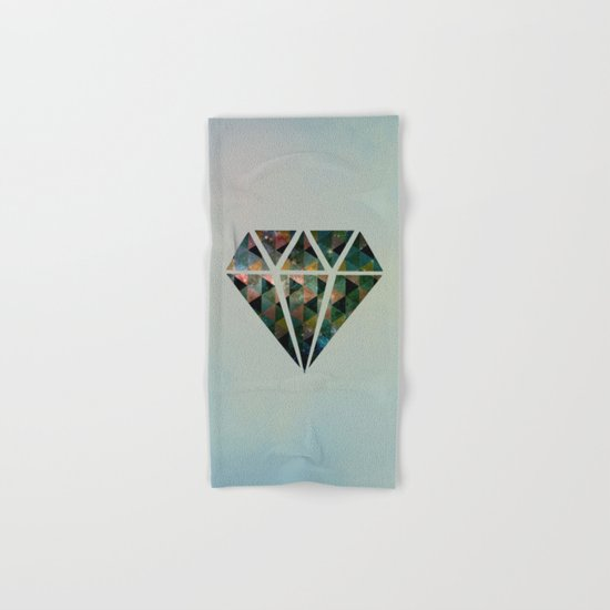 Shine on you crazy diamond Hand & Bath Towel