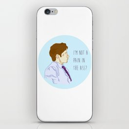 Fox Mulder  iPhone Skin
