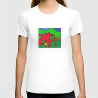 cows T-shirts featuring COWS 3 by Stefan Stettner