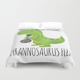 Tyrannosaurus Flex Duvet Cover