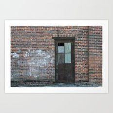 A Door in the Wall Art Print