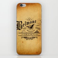 castlevania iPhone & iPod Skins featuring Belmont Pest Control Specialists by Greg Barnes