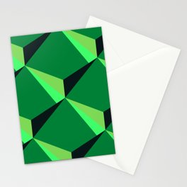 Abstract green modern design  Stationery Cards