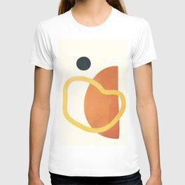 Minimal Abstract Shapes No.40 T-shirt